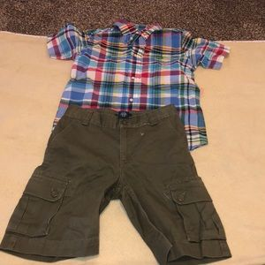Polo Ralph Lauren NWOT boy's shirt & short 6